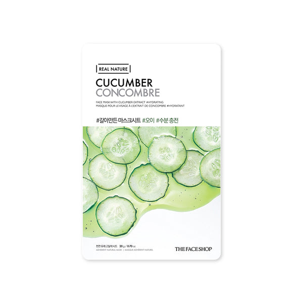 THE FACE SHOP Real Nature Mask Sheet Cucumber