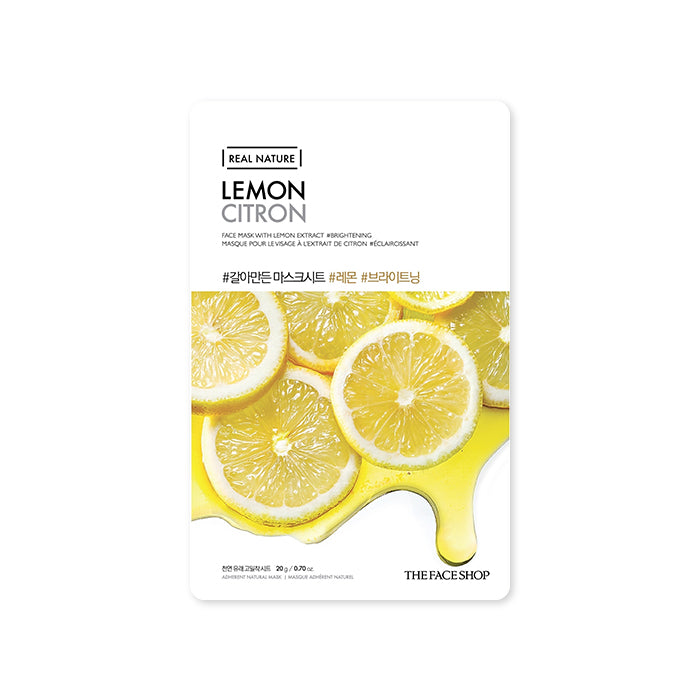 THE FACE SHOP Real Nature Mask Sheet Lemon