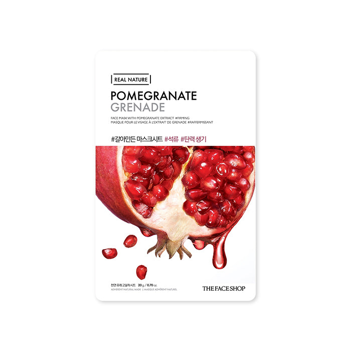 THE FACE SHOP Real Nature Mask Sheet Pomegrante