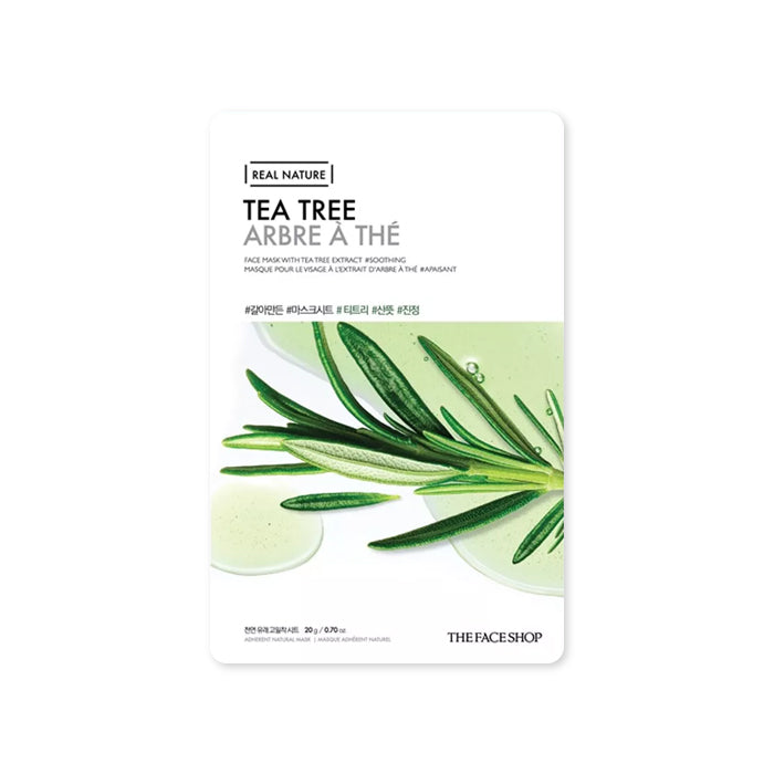THE FACE SHOP Real Nature Mask Sheet Tea Tree