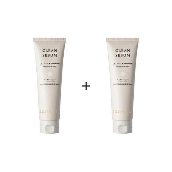 SOONSIKI Clean Sebum Clay Pack To Form 120ml *BOGO* [Ship from US]