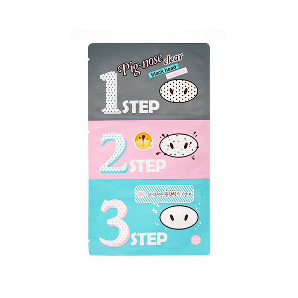 HOLIKA HOLIKA Pig Clear BlackHead 3-Step Kit