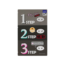 HOLIKA HOLIKA Pig Clear Blackhead 3-Step Kit Strong