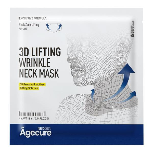 NEOGEN AGECURE 3D LIFTING WRINKLE NECK MASK 65G / 2.20 OZ (5 SHEETS)