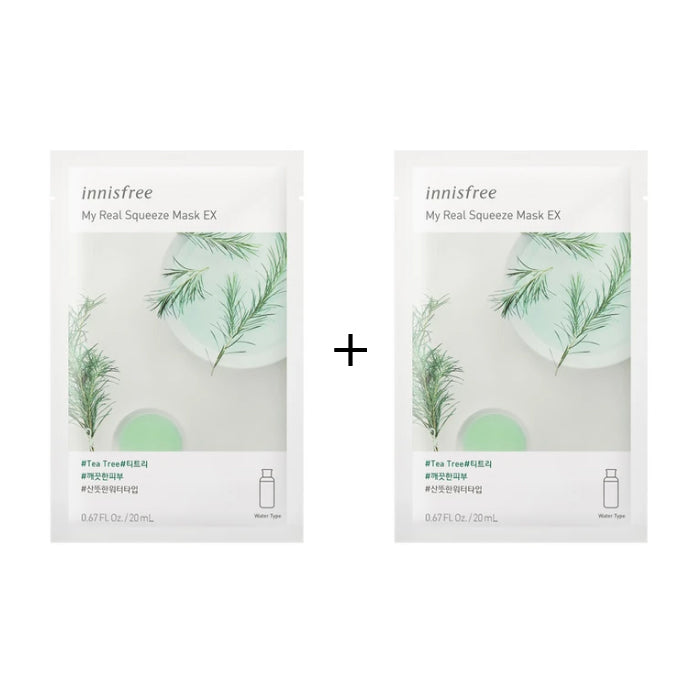 INNISFREE My Real Squeeze Mask 20ml *BOGO*