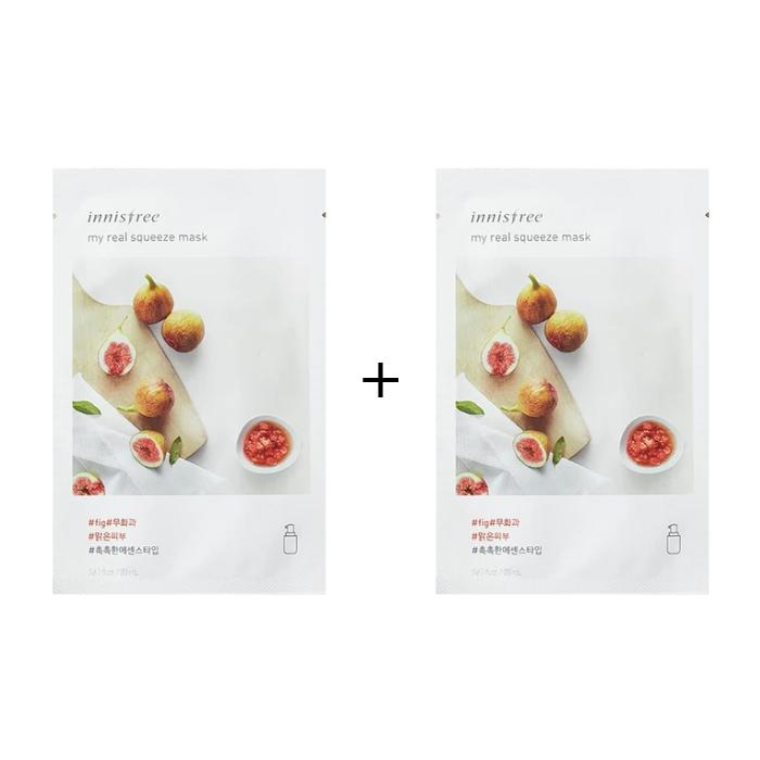INNISFREE My Real Squeeze Mask 20ml *BOGO* [Ship from US]