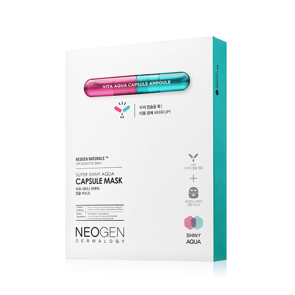 NEOGEN Dermalogy Super Shiny Aqua Capsule Mask