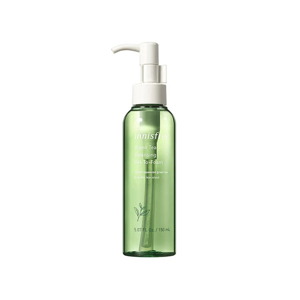 INNISFREE Green Tea Cleansing Gel-To-Foam