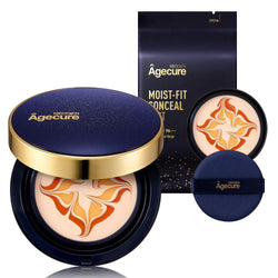 NEOGEN Agecure Moist-Fit Conceal Pact #21 Light Beige + Refill 0.94 oz / 13.5g