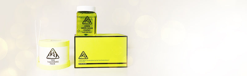 NEOGEN Code9 Lemon Green Caviar Essence&Tox Tightening Pack Kit 250ml+25EA