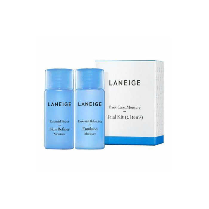 LANEIGE Basic Care Moisture Trial Kit (2items) Set