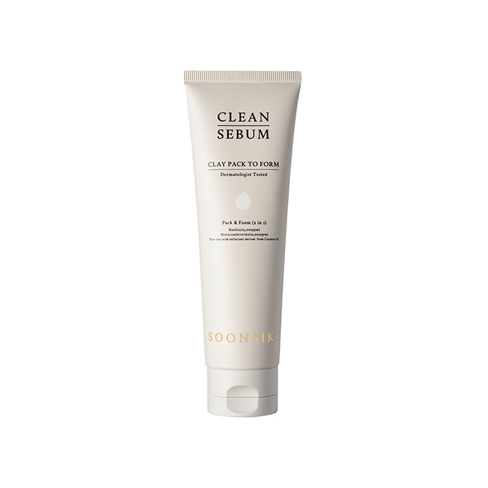 SOONSIKI Clean Sebum Clay Pack To Form