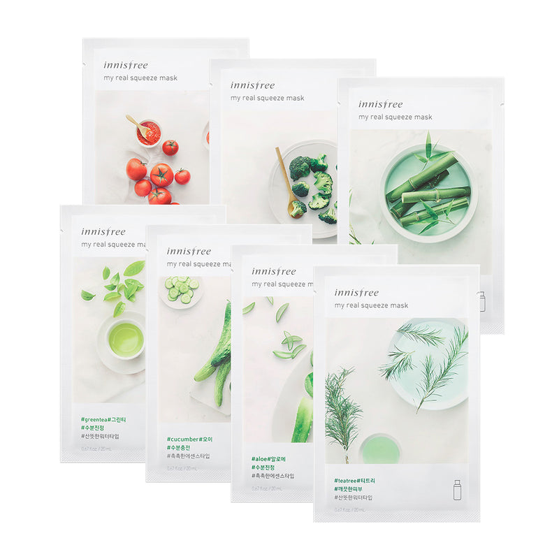 innisfree hydrating soothing set 7 sheets