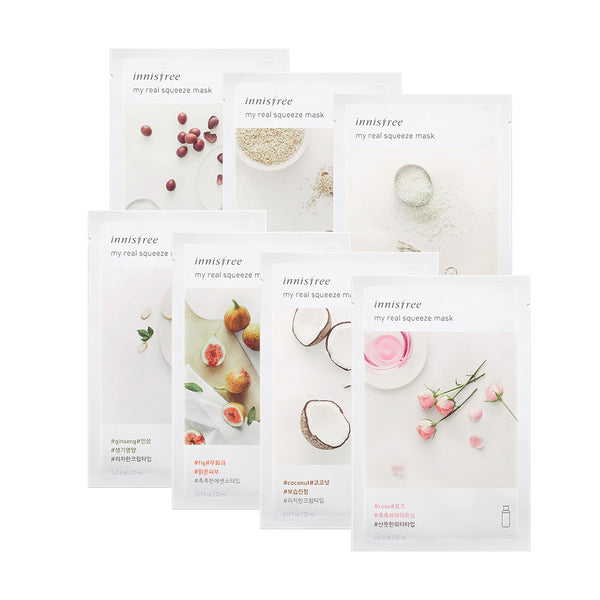 innisfree brightening moisturizing set 7 sheets
