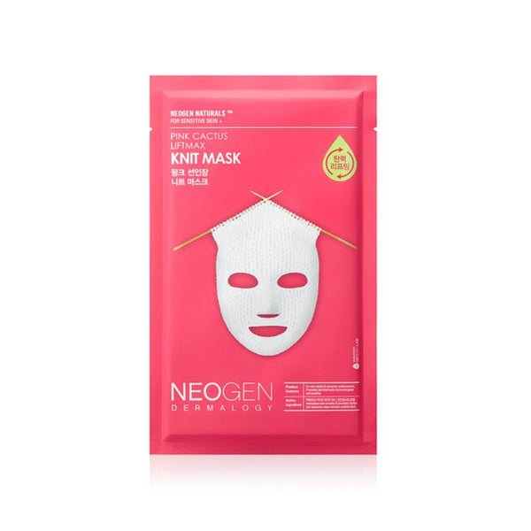 NEOGEN Dermalogy Pink Cactus Liftmax Knit Mask