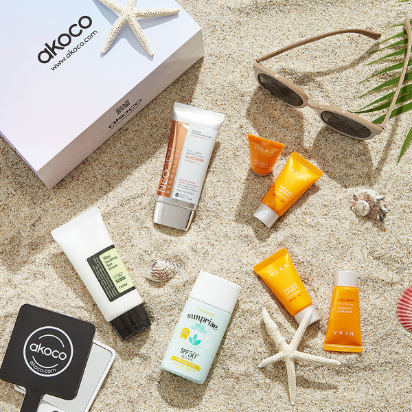 akoco flawless sunscreen set