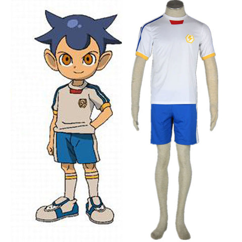Inazuma Eleven Halloween Cosplay Costume For Men Kids Japanese Soccer Ball Team Summer Jersy