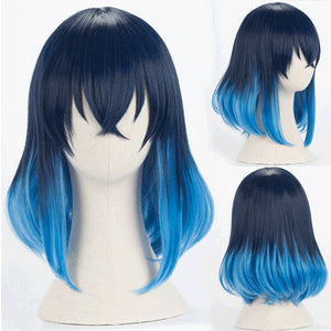 Demon Slayer Kimetsu no Yaiba Hashibira Inosuke Halloween Cosplay Wig