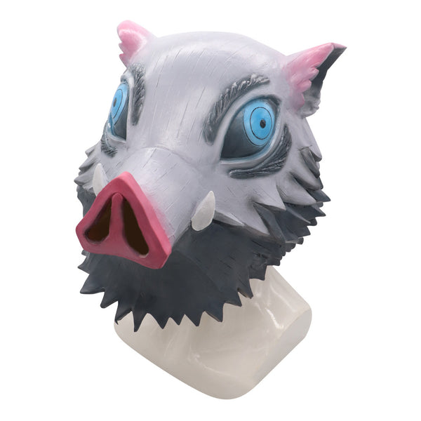 Demon Slayer Hashibira Inosuke Halloween Cosplay Mask Cosplay Props