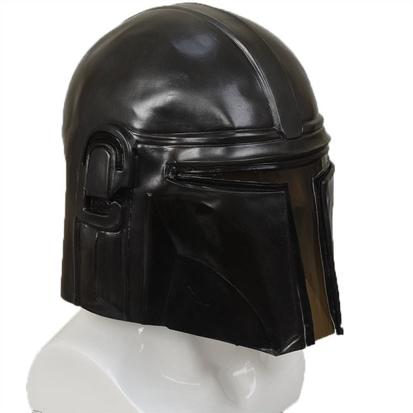 Star Wars The Mandalorian Cosplay Mask Pedro Pascal Mandalorian Soldier Warrior Latex Helmet
