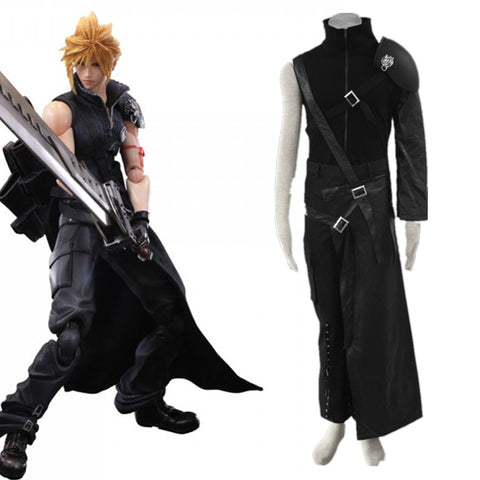 Final Fantasy VII FF7 Cloud Halloween Cosplay Costume