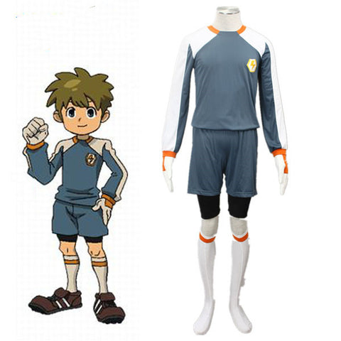 Inazuma Eleven Goalkeeper Jersy Halloween Cosplay Costume For Men Kids Raimon Jersy