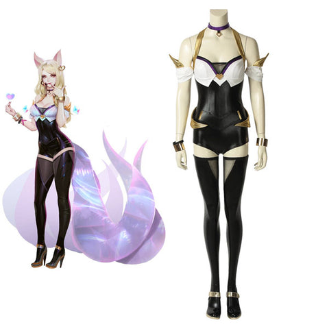 League of Legends LOL KDA Ahri Halloween Cosplay Costume