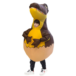 Halloween Party Dinosaur Egg Inflatable Blow Up Costume For Kid