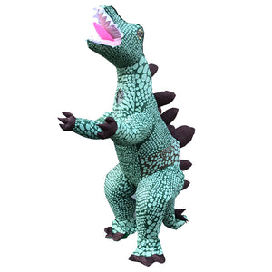 Halloween Party Dinosaur Costume Stegosaurus Inflatable Blow Up Costume