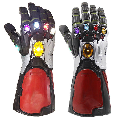 Glowing Iron Man Golves Halloween Cosplay Costume Accessories Prop