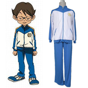 Inazuma Eleven Halloween Cosplay Costume For Men Kids Japanese Winter Soccer Ball Sports Wear