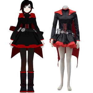 RWBY Ruby Rose Halloween Cosplay Costume