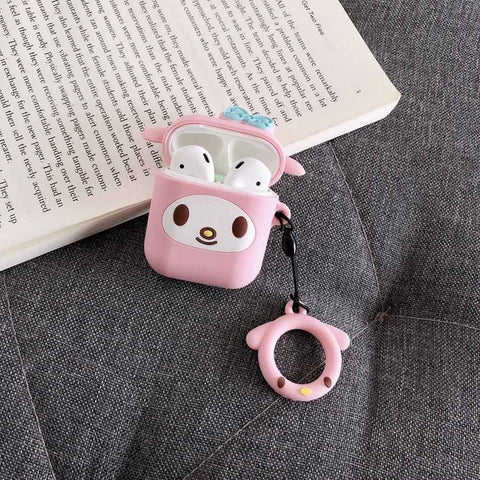 Melody AirPods Case Kawaii Earphone Cases For Apple Airpods Protect Cover