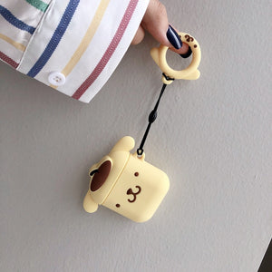 Pom Pom Purin AirPods Case Kawaii Earphone Cases For Apple Airpods Protect Cover