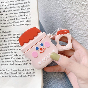 Kawaii Milk Bottle Earphone Cases For AirPods Case