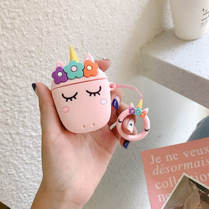 Kawaii Unicorn Earphone Case For Airpods Case Bluetooth