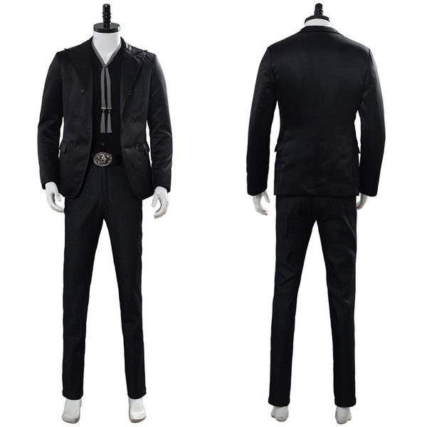 Good Omens Devil Crowley Halloween Cosplay Costume Full Set