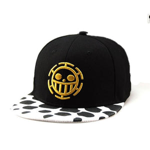 One Piece Trafalgar Law  Cosplay Hat Baseball Cap Cosplay Caps For Women Men Hip Hop Snapback Caps Flat Hat