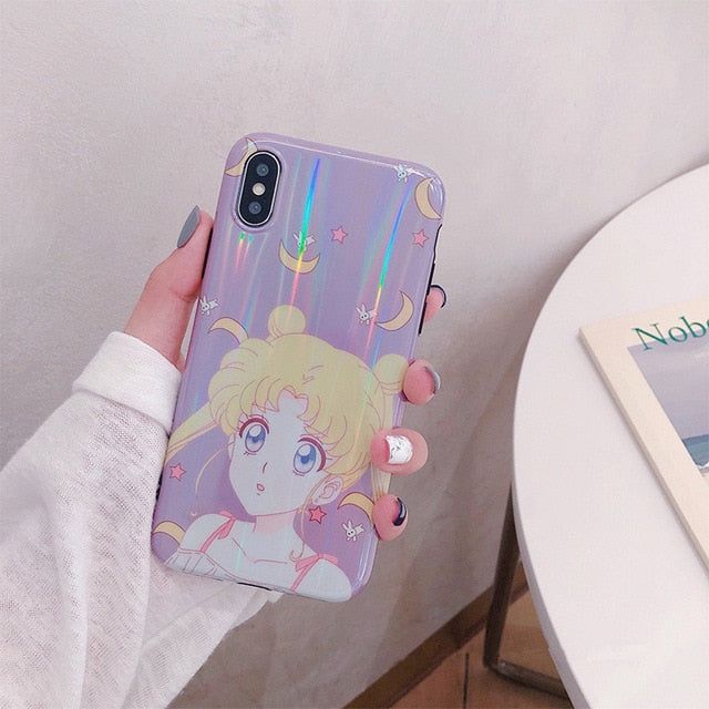 Sailor Moon Iphone Case Kawaii Japanese Anime Phone Case