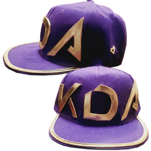 League of Legends LOL K/da Kda Akali Hat Cosplay Baseball Cap Cosplay Props