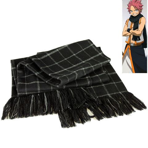 Fairy Tail Natsu Dragneel Cosplay Costume Scarfs Cosplay Prop