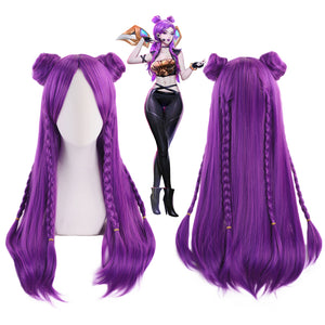 League Of Lengends LOL K/DA KDA Kaisa Cosplay Wigs