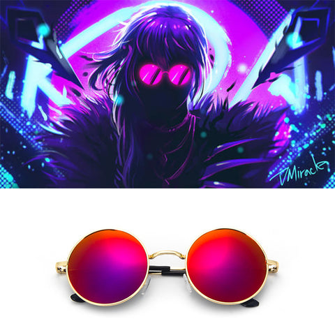 League of Legends LOL K/da Kda Evelynn Cosplay  Sunglasses