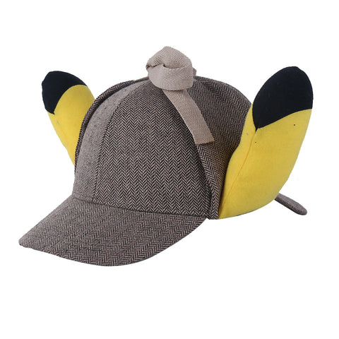 Detective Pikachu 2019 Movie Cosplay Hat