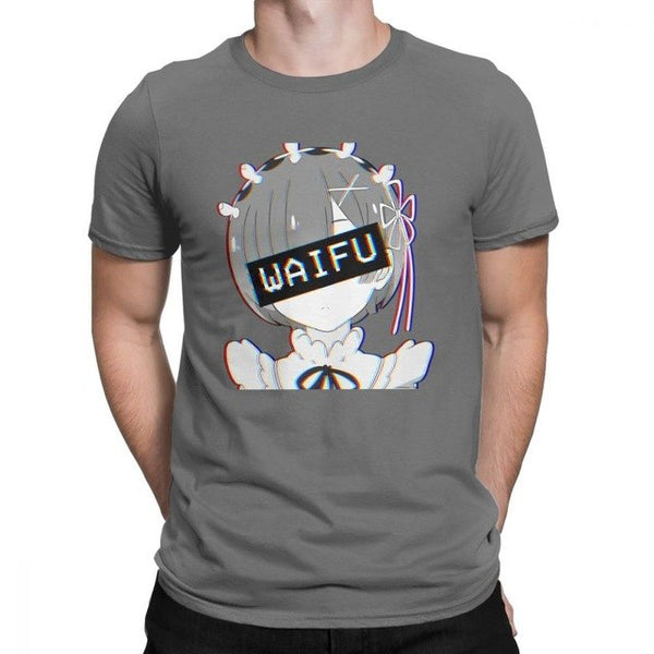 Anime Re Zero Starting Life In Another World Rem Waifu T Shirt