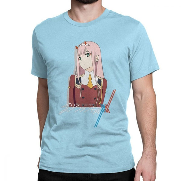Darling In The Franxx 02 Zero Two Men T Shirt