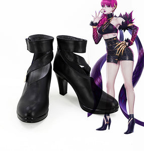 League Of Lengends LOL K/DA KDA Evelynn Halloween Cosplay Shoes