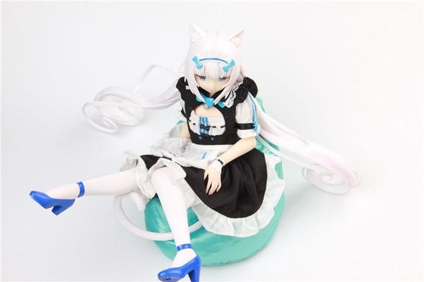 Vanilla & Chocolate Nekopara Sexy Maid Girl Anime Action Figure