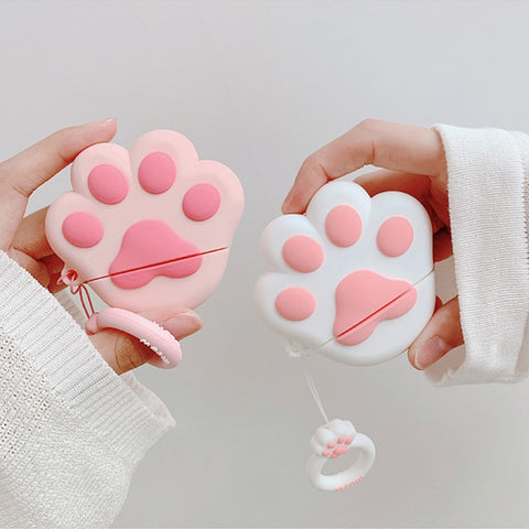 Kawaii Cat Claw Earphone Case For Airpods Case Bluetooth
