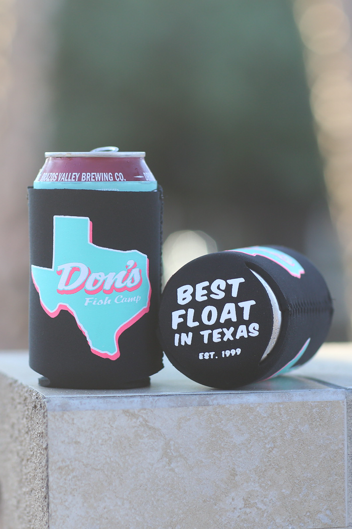 Don's Texas Can Cooler - Pink/Mint - Black